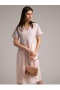 Платье с эффектом юбки и блузки Emka PL1038/task