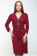 Платье с эффектом букле Bravissimo 162558
