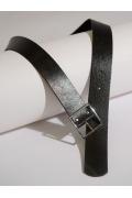 Широкий ремень с металлической пряжкой Emka F003/baum