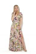 Длинное платье с разрезом Donna Saggia DSP-33-89t