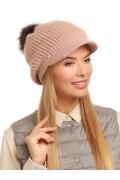 Женская двойная кепка с помпоном Landre Джустине