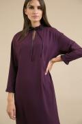 Платье прямого силуэта на подкладке Emka PL932/lanik