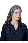 Женская повязка на голову рельефной вязки Landre Нерезе