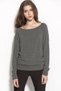 Трикотажная блузка серого цвета Nife B53