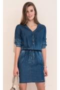 Летнее джинсовое платье 2017 Zaps Bea