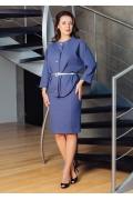 Женский костюм из юбки и жакета TopDesign Premium PA754/PA753