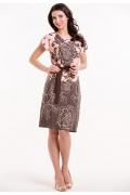 Трикотажное платье с коротким рукавом Remix 7294/1