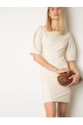Платье нежно-молочного оттенка Emka PL1184/atwood