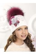 Шикарная шапка для девочек Willi Tiana