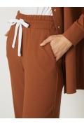 Трикотажные брюки прямого кроя Emka D184/samir