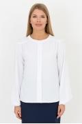 Белая блузка Emka Fashion b 2132/fess