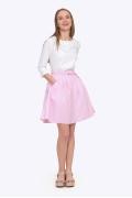 Летняя юбка розового цвета Emka S322/elizabeth