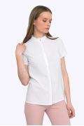 Романтичная и нежная белоснежная блуза Emka B2243/anet
