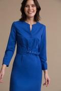 Платье синего цвета Emka PL958/paniano