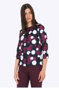 Женская блузка с рукавом три четверти Emka B2204/veva