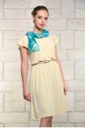 Летнее платье жёлтого цвета Issi 171540