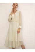 Шифоновое платье А-силуэта Emka PL1082/falover