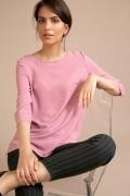 Розовая блузка прямого кроя Emka B2534/ruren
