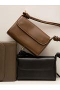 Прямоугольная наплечная сумка Emka C032/abelin