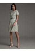 Платье с мелким принтом Polka dot Emka PL1039/delhi