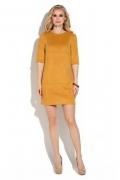 Платье из искусственной замши Donna Saggia DSP-244-5t
