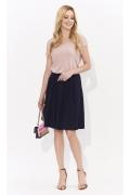 Розовая блестящая блузка Zaps Lexy