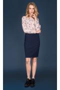 Тёмно-синяя юбка Zaps Darwina