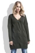 Длинный свитер-туника Fimfi I232
