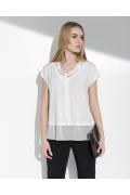Летняя блузка оригинального кроя Sunwear I41-2-08