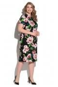 Летнее платье из хлопка с эластаном Donna Saggia DSPB-01-85