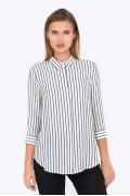 Женская рубашка в полоску Emka Fashion b 2198/kemina