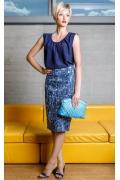 Летняя юбка из хлопка Flaibach 038S6