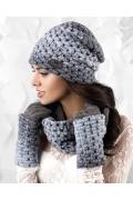 Стильная женская шапка Kamea Ombre