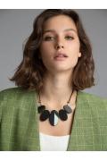 Ожерелье с декоративными элементами L025/woods