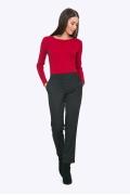 Современные женские укороченные брюки Emka D088/giacinta