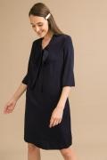 Платье прямого кроя из вискозы Emka PL972/sochi