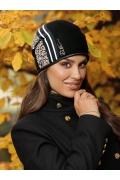 Женская шапка-бандана из шерсти Willi Alda
