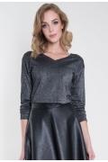 Стильная блузка с люрексом Zaps Helene