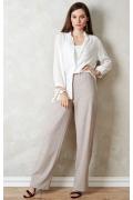 Белая женская рубашка TopDesign A20 007