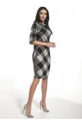 Трикотажное платье в крупную клетку Ennywear 250124