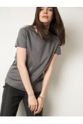 Качественная футболка свободного кроя Emka B2579/frans