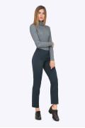 Тёмно-синие женские брюки Emka D082/castor