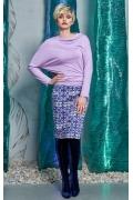 Сиреневая блузка Flaibach 150W8