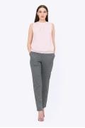 Женские брюки в чёрный горошек Emka D-006/pelleya