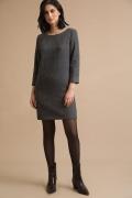 Серое платье прямого кроя Emka PL879/elizavr
