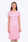 Платье розового цвета Emka Fashion PL-585/shegira