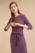 Платье с поясом Emka PL921/alie