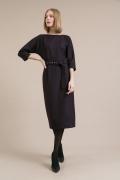 Платье с поясом Emka PL933/adain