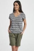 Полосатая летняя блузка Ennywear 250035