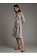 Летнее хлопковое платье Emka PL1027/times
